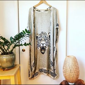 Other - Leopard Knit Cardigan